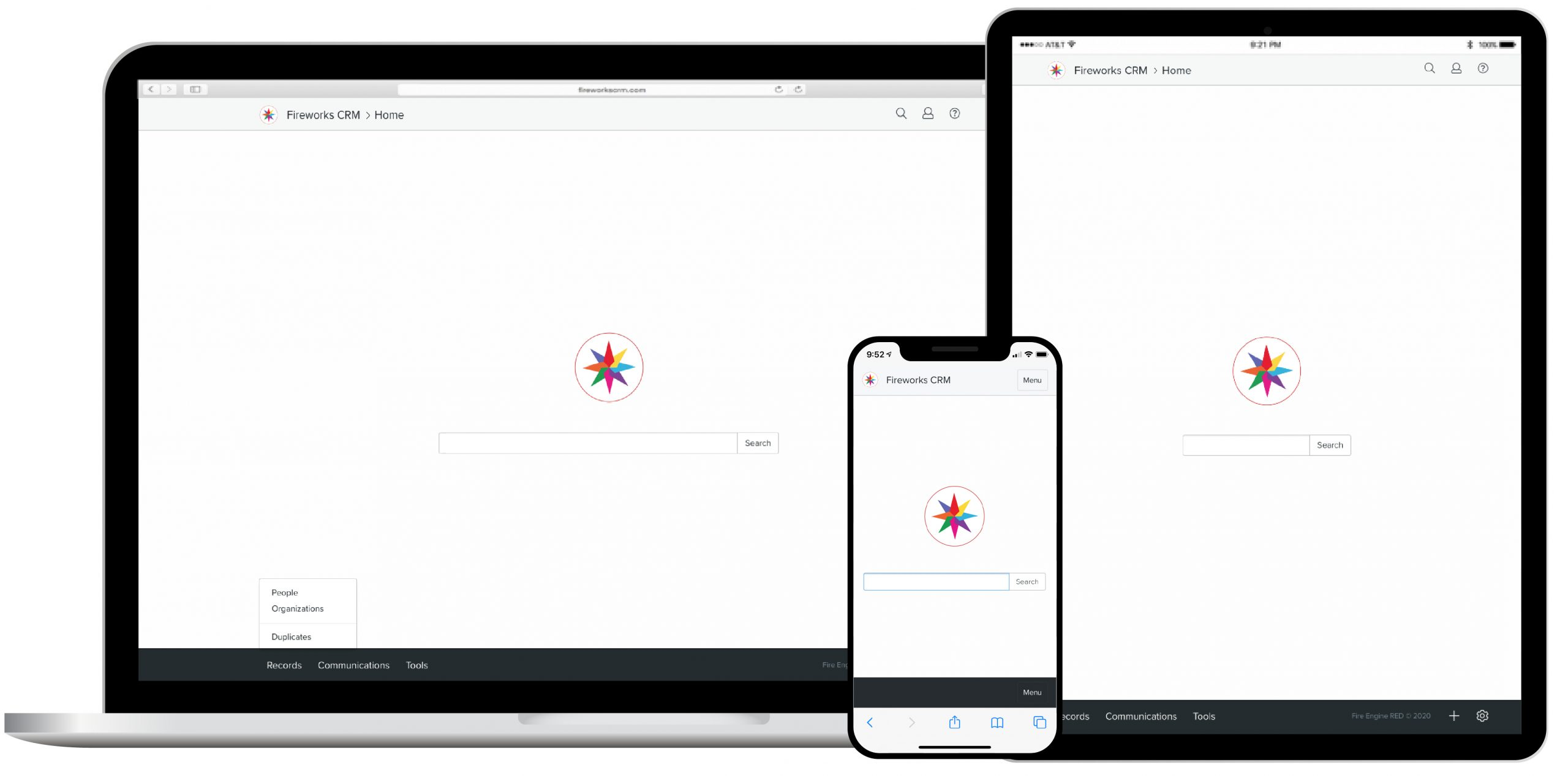 Fireworks CRM Devices
